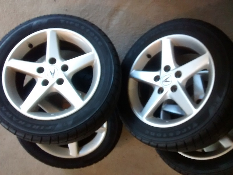 For Sale One Set Oem Acura Rsx Wheels X With - Acura stock rims